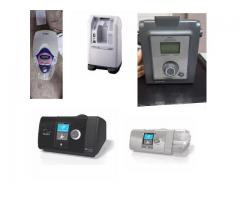 oxygen machine bipap and cpap machine on rent and sale