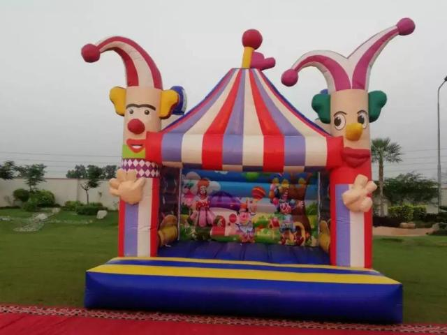 Magician and Jumping Castle  In Lahore