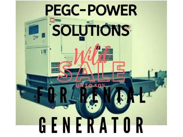 Generators For Rent/ Rent Generator/ Rental