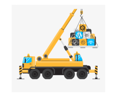 We Provide Cranes and Other Heavy Machinery