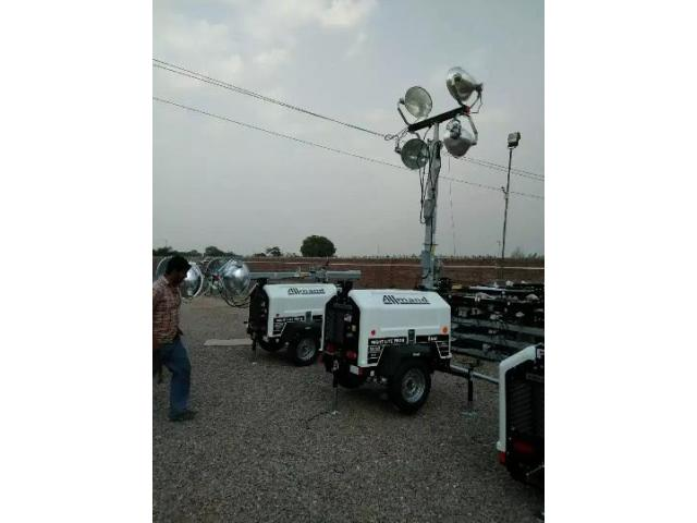 Night lights and cranes availabe for rent