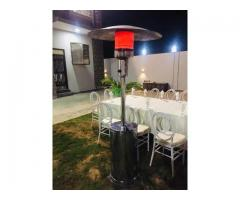 Patio Portable Heaters for rent