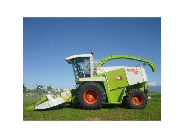 CLAAS Maize Silage Harvester Jaguar 860