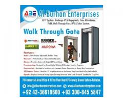 Metal Detector Walk Through Gate For RENT (-SECURITY is MUST-)