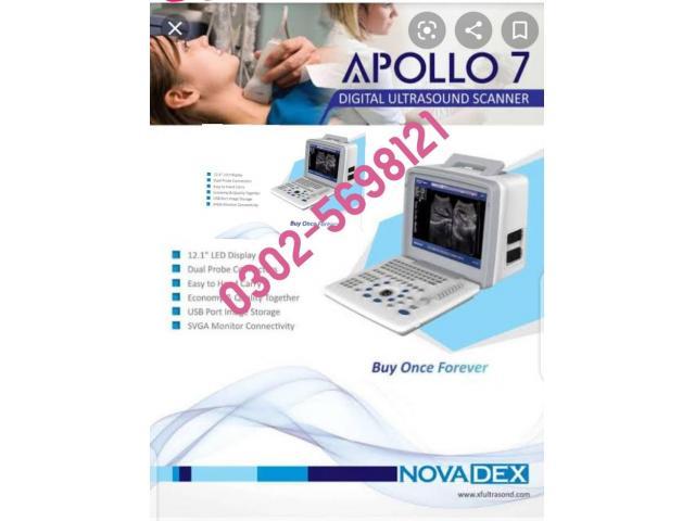 Apolo7 ultrasound Machine PIN PACK